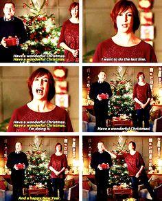 Miranda Hart And David Walliams. haha I loved when she slapped him! Miranda Tv Show, British Humor, British Comedy, Christmas Quotes, All Things Christmas, Miranda Hart Quotes, Celebs, Celebrities, Humor