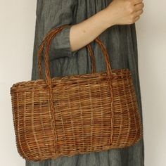 [Envelope Online Shop] circular basket bag with handles (small) KOHORO