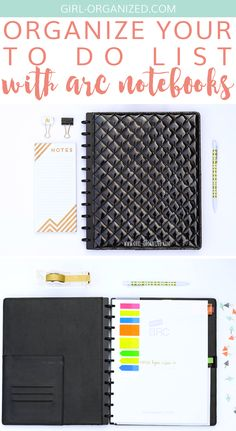Organize Your To Do List with Arc Notebooks