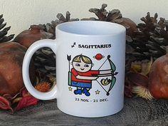 Sagittarius Mug Zodiac Sign Coffee Mug Unique Coffee Mug!  #coffeemug #zagittarius #signs