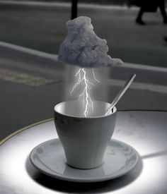 Storm in a Teacup by dumbat via photoshopcontest.com #Storm_in_a_Teacup #dumbat #photoshopcontest #Photoshop