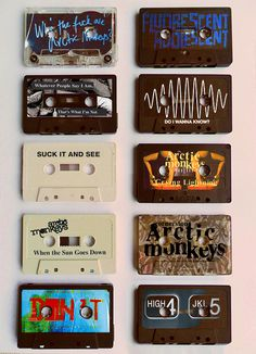 - Cassette tapes. #music #cassette #tapes http://www.pinterest.com/TheHitman14/the-audio-tape-%2B/