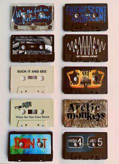 - Cassette tapes. #music #cassette #tapes http://www.pinterest.com/TheHitman14/the-audio-tape-%2B/