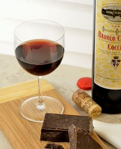 Barolo Chinato and dark chocolate - a marriage made in heaven