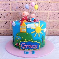 Divertida idea para aperitivo de una fiesta temática de Peppa Pig. #Peppapig #fiestadecumpleaños