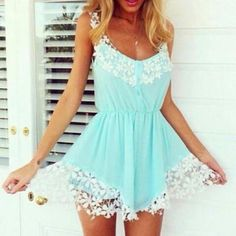 《♡~ @gustlily 》 Cute mini romper