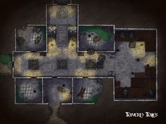 Tavern Tales is creating RPG Battle Maps, Encounters, and Dungeons Divinity Original Sin, Rpg Map, Pen & Paper, Dnd 5e Homebrew, Map Maker, Adventure Map, Dungeon Maps, Fantasy Map, Custom Map
