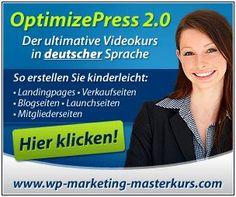 OptimizePress 2.0 Videokurs in deutscher Sprache