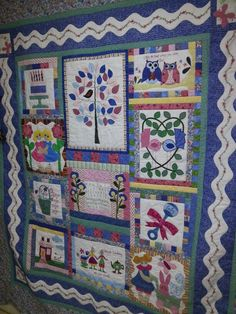 Gladys great quilt.