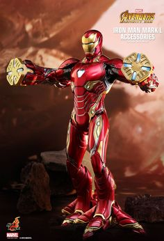 Marvel Drawing Hot Toys : Avengers: Infinity War - Iron Man Mark L scale Accessories Collectible Set Marvel 616, Marvel Comics, Marvel Heroes, Marvel Avengers, Avengers Series, Iron Man Suit, Iron Man Armor, Iron Man 3, Iron Man Wallpaper