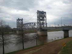 Red River Bridge, Alexandria, Louisiana....drove it many a day!