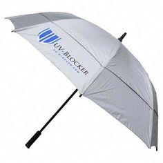 Uv-blocker UPF 50 UV Protection Golf Sun Umbrella for sale online Golf Mk1, Golf Stance, Golf Umbrella, Miniature Golf, Club Face, Play Golf, Golf Carts, Golf Tips, Golf Shoes