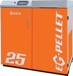 EG-PELLET    http://ekogren.pl/produkt/18/eg-pellet  Konstruktorzy firmy GREŃ stworzyli urządzenie grzewcze zaprojektowane i wykonane wg najnowszych standardów obowiązujących w technice grzewczej.Cel jaki sobie postawili to prosta obsługa, niskie zużycie paliwa,wysoka sprawność kotła.Kocioł EG-PELLET przeznaczony jest do ogrzewania domów pasywnych, domów jedno lub wielorodzinnych,biur, warsztatów,małych i dużych gospodarstw rolnych,urzędów.