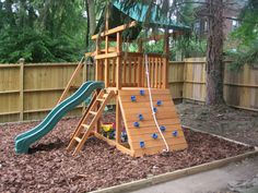 Backyard set by look swing set for small backyard backyard swings. Kids Playset Outdoor, Backyard Playset, Kids Outdoor Play, Outdoor Play Areas, Backyard Playhouse, Kids Play Area, Backyard Fort, Backyard Landscaping, Kids Backyard Playground