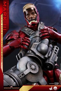 Iron Man – 1/4th Scale Mark III Collectible Figure Coming Soon     DisKingdom.com   Disney   Marvel   Star Wars - Merchandise News Iron Man, Star Wars Merchandise, Disney Marvel, Master Chief, Scale, Superhero, Toys, Fictional Characters, Collection