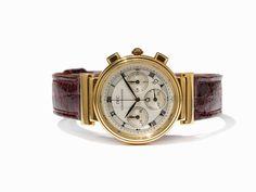 IWC Gold Chronograph, Ref. 3739, Schweiz, um 1990 IWC Gold Chronograph, Ref. 3739Schweiz, um 1990Qua