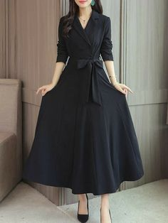 Wedding Dress With Pockets, Dress Wedding, Vestido Casual, Dress Silhouette, Collar Dress, Fashion Dresses, Maxi Dresses, Hijab Dress, Long Dresses