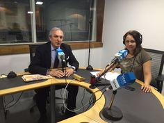 Antonio Banda, CEO de Feelcapital, con la periodista económica Rosana Sáez, en el programa Finanzas Personales de Cierre de Mercados (Radio Intereconomía).  #FondosDeInversión (2 de junio de 2017).