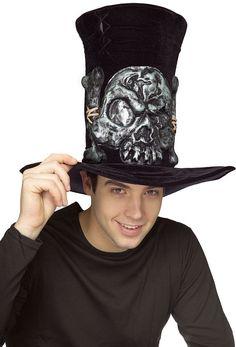 Gothic Skull Hat Accessory