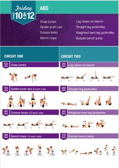Kayla Itsines - Week 10 & 12 Friday Workout