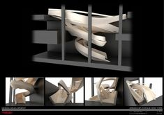 Furniture, Cool Giorgio Armani Stairs Design Ideas As Well As Italian Master Designer Staircase Design Ideas ~ Exclusive Giorgio Armani Furniture Completing Luxurious Home Appliances Concept Architecture, Architecture Details, Interior Architecture, Modegeschäft Design, Interior Design, Design Ideas, Giorgio Armani, Emporio Armani, Stairs Diagram
