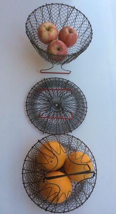 collapsible multi-basket 'Triumph' SOLD