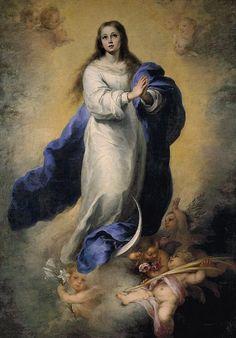 Bartolomé Estéban Murillo: Inmaculada del Escorial, 1660.