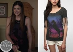 Shop Your Tv: Pretty Little Liars 4x01 Paige's #UrbanOutfitters Horse Tee
