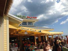 Landshark bar at Atlantic City Boardwalk