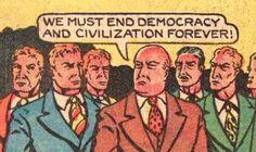 Globalists' committee meeting...
