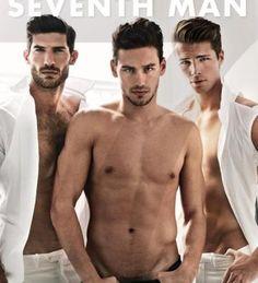 Mariano Ontañon, Ryan Barrett + Edward Wilding Cover Seventh Man Magazine