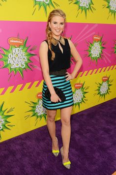 Caroline Sunshine - 2013 Kids Choice Awards