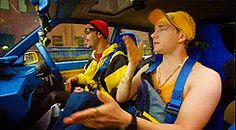 Ali G with what? Martin Freeman....