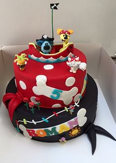 Woezel and pip cake Woezel en pip taart Made by Angelique Bond