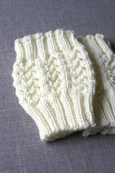 Knitted Boot Cuffs Cream Knit Boot Cuffs Leg by hilaryfrazier