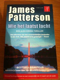 Wie het laatst lacht.  James Patterson