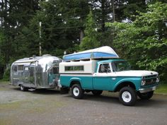 Old Truck Campers 1920 1960 | ... are ready to head out for the weekend with our 1960 Airstream Safari