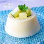 flan frio de melon 1