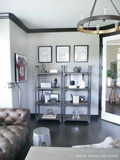 Industrial Office Shelves