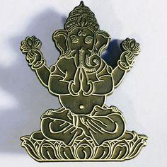 Ganesh Raw Hat Pin – Viberaider's Vault