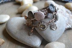 Armband ontworpen en handgemaakt door Walyf
