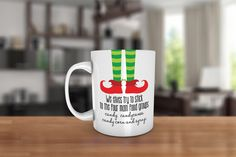 We elves try to stick to the four main food groups.. Ceramic Coffee Mug - Dishwasher Safe Christmas Coffee Mug- Elf Movie Quote - Elf Mug by JcDezigns on Etsy https://www.etsy.com/listing/205234363/we-elves-try-to-stick-to-the-four-main