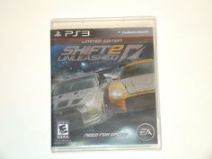 PS3 Sony Playstation 3 Need For Speed Shift 2 Unleashed Limited Edition Game