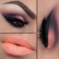 Maquillaje color Coral
