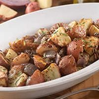 Olive Garden: Roasted Potatoes with Red Onions