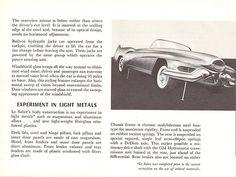 Brochure for 1951 GM LeSabre experimental car