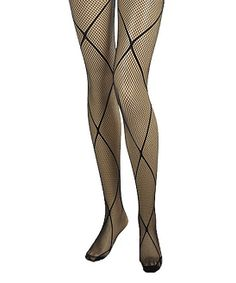 Black Crisscross Fishnet Tights | Daily deals for moms, babies and kids