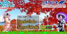 Vé máy bay đi Nhật giá rẻ hãng All Nippon Airlines