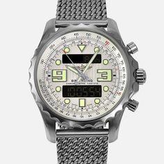 Breitling Chronospace Chronometer SuperQuartz A78365 Mens Luxury Watch