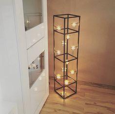Wohnzimmer / Livingroom / Interior / Wohnen / Einrichtung: Ikea Ektorp  Sofa, Kupfer Lampe, Scandinavian Living, Taupe / Beige / Weiß | Wohnzimmer  ...